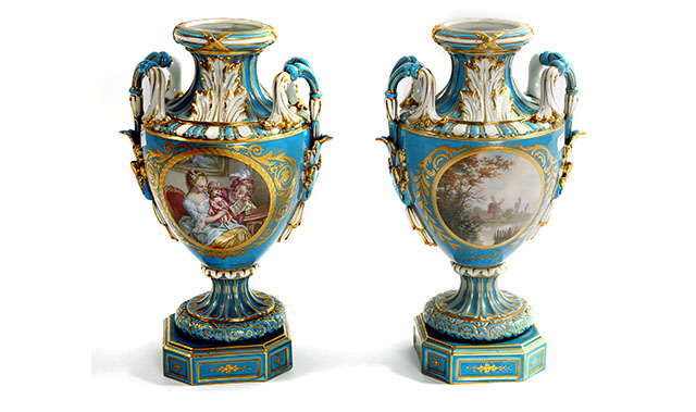 Sevres Porcelain Vases French Porcelain Vases Buyers